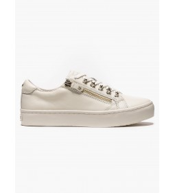 "Tommy Hilfiger ""Star Jeweld Leather Sneaker"" Whisper White"