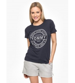 "Tommy Jeans ""Stamp Logo Tee"" Navy"