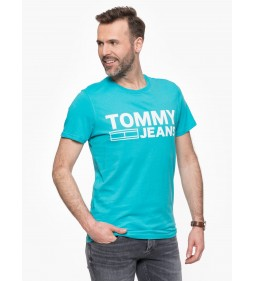 "Tommy Jeans ""Basic Cn T-Shirt"" Maui Blue"