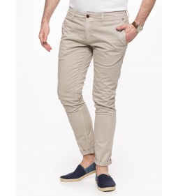 "Tommy Jeans ""Slim Printed Sof"" Plaza Taupe"