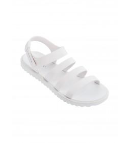 """Zaxy """"Spring Sandal Fem"""" Białe"""
