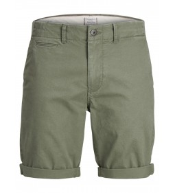 "Jack & Jones ""Jjienzo Shorts"" Deep Lichen Green Chino"