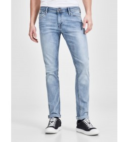 "Jack & Jones ""Iglenn Jjfelix Am 667"" Blue Denim"