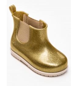 """Zaxy """"Boot Joy Baby"""" Złoty Brokat"""