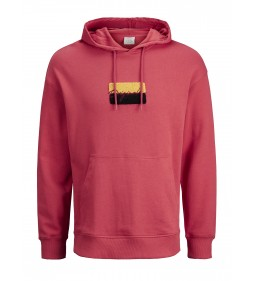 "Jack & Jones ""Joralias Sweat Hood"" Baked Apple"
