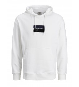 "Jack & Jones ""Joralias Sweat Hood"" White"