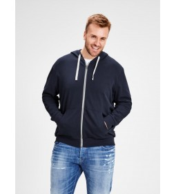 "Jack & Jones ""Jeholmen Sweat Zip Hood"" Navy Blazer"