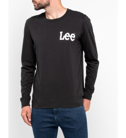 "LEE ""Logo T"" Pitch Black"