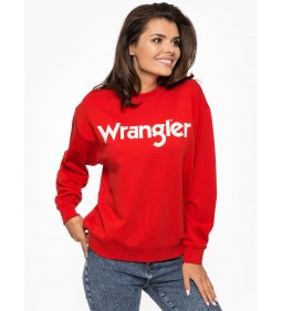 "Wrangler ""Logo Sweat Formula"" Red"