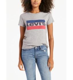 """Levi's """"The Perfect Tee"""" Sportswear LogoSmokestack"""