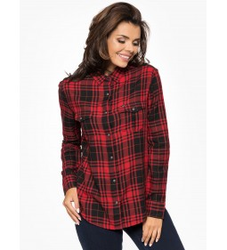 "Lee ""Western Shirt"" Bright Red"