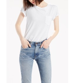"Levi's ""The Perfect Crew"" White"
