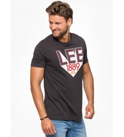 "Lee ""Retro Lee T"" Faded Black Plus"