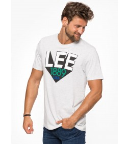 "Lee ""Retro Lee T"" Sharp Grey Mele"