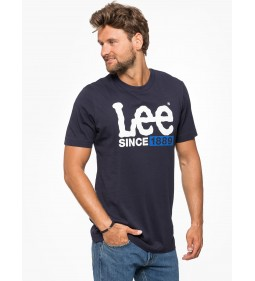 "Lee ""1889 Logo T"" Night Sky"