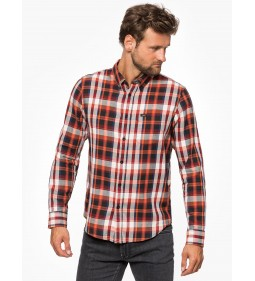 "Lee ""Button Down"" Rust Orange"