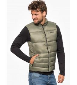 """Wrangler """"Puffer Vest Dusty"""" Olive"""