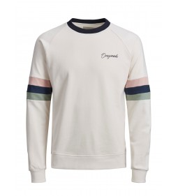 "Jack & Jones ""Jorfred Sweat"" Cloud Dancer"