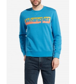 "Wrangler ""Logo Crew"" Deep Water"