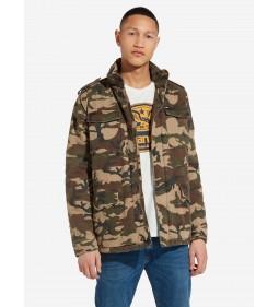 "Wrangler ""Field Jacket"" Camouflage"