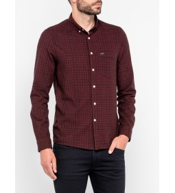 "Lee ""Slim Button Down"" Rhubarb Red"