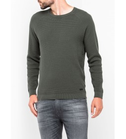 "Lee ""Crew Knit"" Grey Green"