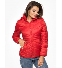 "Wrangler ""Short Puffer"" Salsa Red"