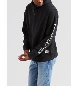 "Levi's® x Justin Timberlake ""Oversized Camo Hoodie"" Black"