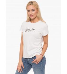 """Tommy Jeans """"Feminine Script"""" White"""