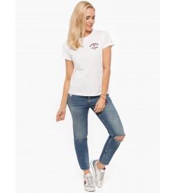"""Tommy Jeans """"Feminine Logo""""  White"""