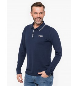 "Tommy Jeans ""L/S Polo TJM Stretch Long"" Navy"