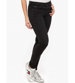 "Tommy Jeans "" Mid Rise Skinny Nora"" Black"
