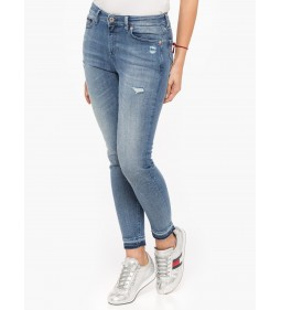 "Tommy Jeans "" Mid Rise Skinny Nora""  Dazzle Light"