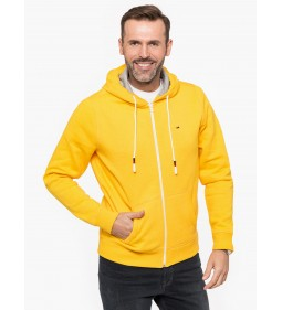 "Tommy Jeans ""TJM Essential Zipthr"" Spectra Yello"