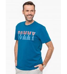 """Tommy Jeans """"Split Logo Tee"""" Blue"""