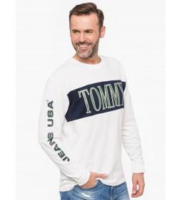 "Tommy Jeans ""Retro Longsleeve"" White"