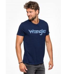 """Wrangler """"Indigo Tee"""" Dark Indigo"""