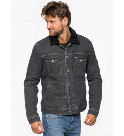 "Wrangler ""Sherpa Jacket"" Midnight Stone"