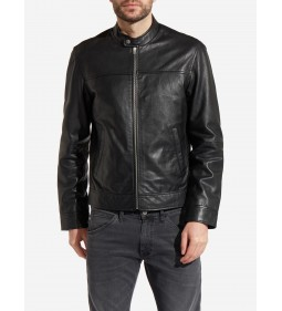 "Wrangler ""Leather Biker"" Black"
