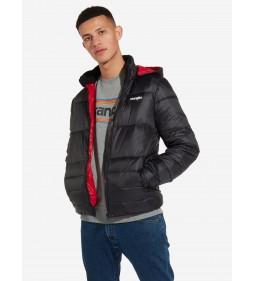 """Wrangler """"Puffer Jacket"""" Black"""