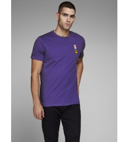 "Jack & Jones ""Jorlegendpkt Tee"" Deep Wisteria"
