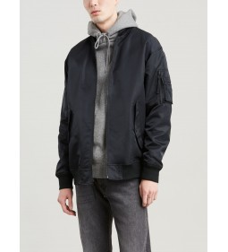"Levi's ""Oversized Rvs Bomber"" Black Mid Season Sale"