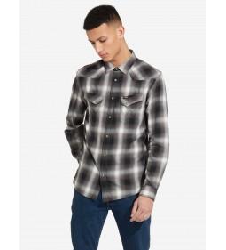 "Wrangler ""LS Western Shirt"" Black"