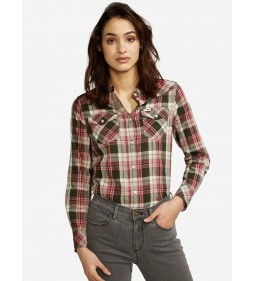 "Wrangler ""Check Shirt"" Rosin Green"