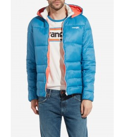 "Wrangler ""Puffer Jacket"" Deep Water"