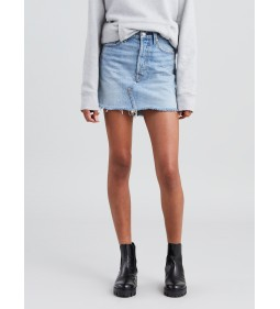 "Levi's ""Deconstructed Skirt"" Diamond In Rough Skirt Mid Season Sale"