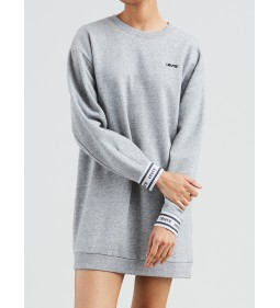 "Levi's ""LS Sweatshirt Dress"" Smokestack Heather"