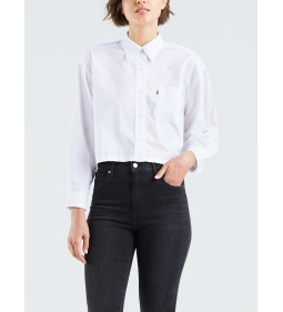 "Levi's ""Selah Shirt"" Bright White Mid Season Sale"