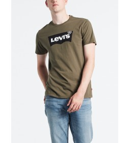 "Levi's ""Housemark Graphic Tee"" Tech Olive Night Mid Season Sale"