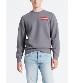 "Levi's ""Modern Hm Crewneck"" Hm Crew Quiet Shade Heather"